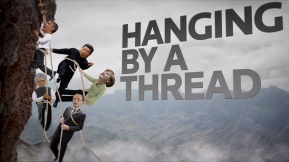 """Hanging By A Thread"""