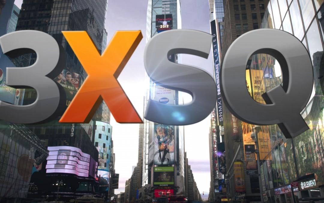 """3xSQ"" (Reuters 3 Times Square) Show Development"