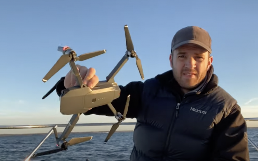 DON'T lose your drone while flying from a boat